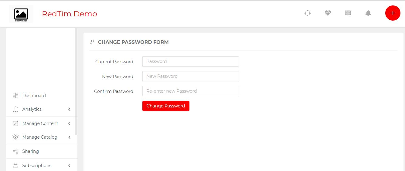 change password redtim
