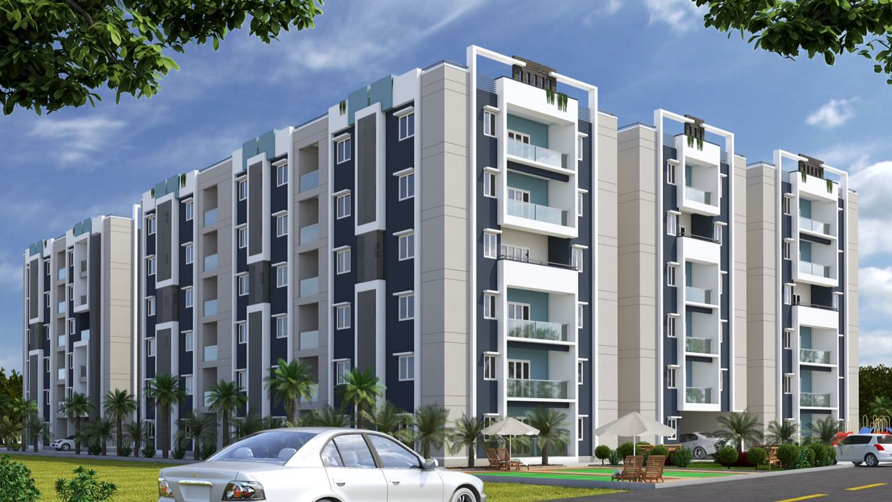 RIVER CREEK RESIDENCY in Vijaywada