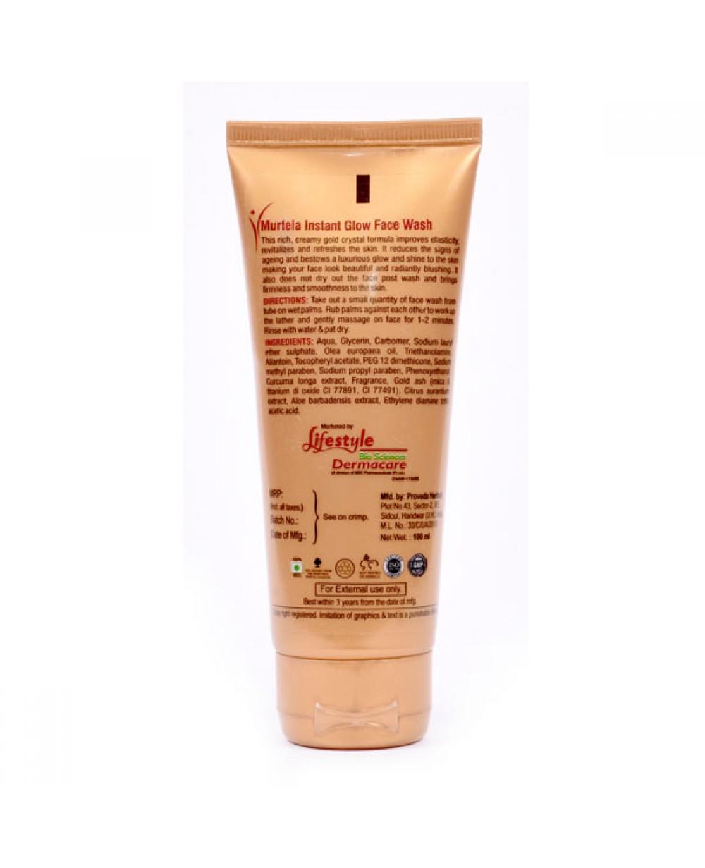Murtela Gold Face Wash, 100 ml