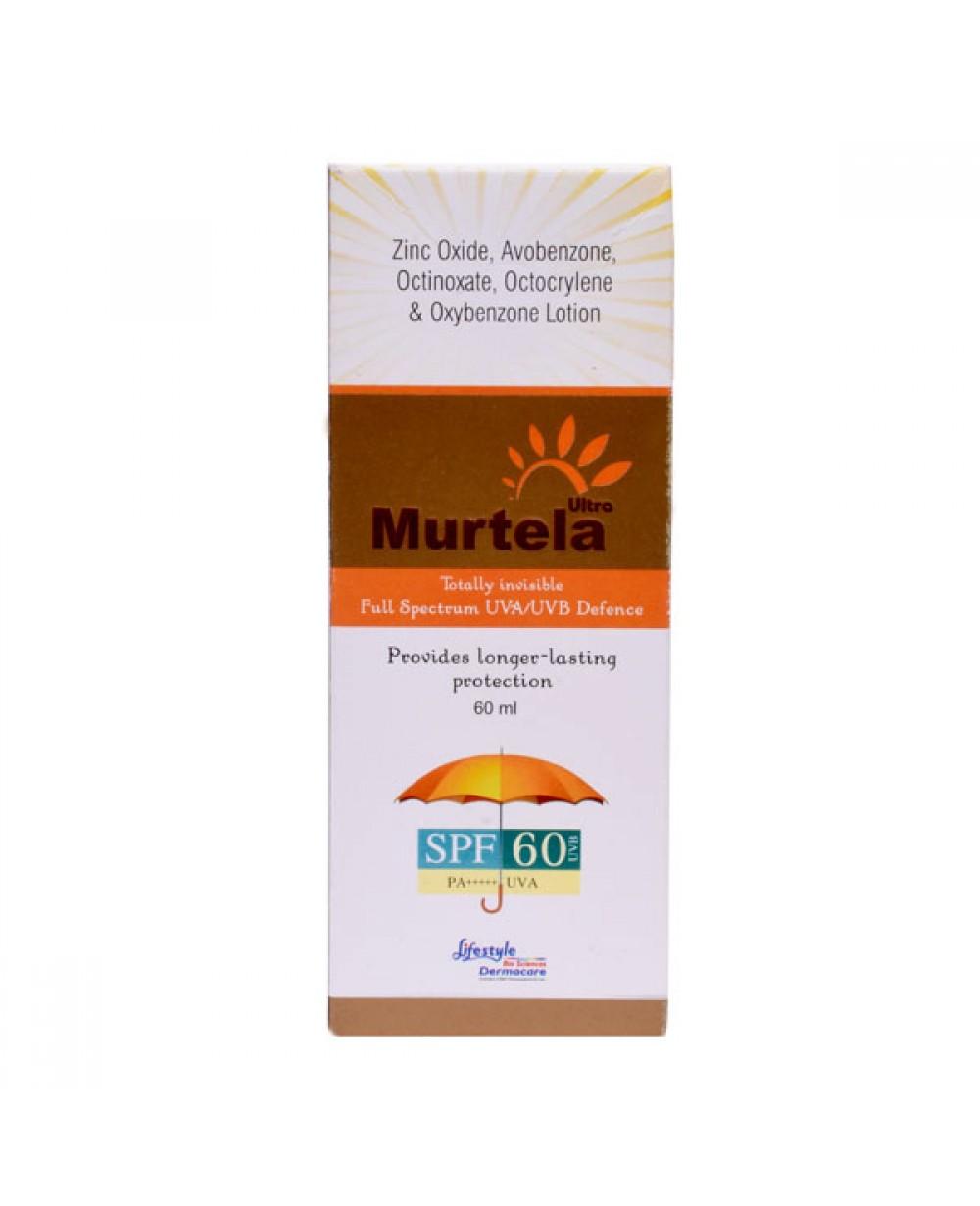 Murtela Ultra Sunscreen Lotion - 60ml