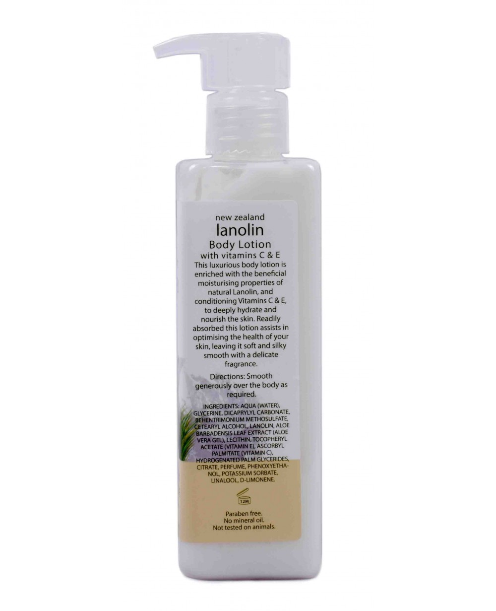 WILD FERNS LANOLIN BODY LOTION 240 ML