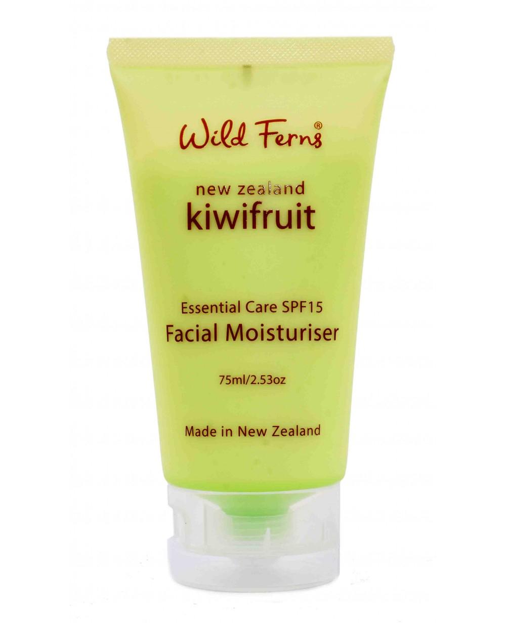 WILD FERNS KIWIFRUIT FACIAL MOISTURISER WITH SPF 15+ 75 ML