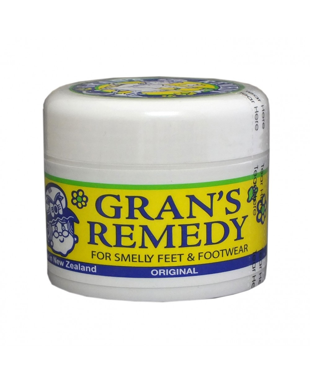 Gran's Remedy Original Foot Powder for Smelly Feet And Footwear
