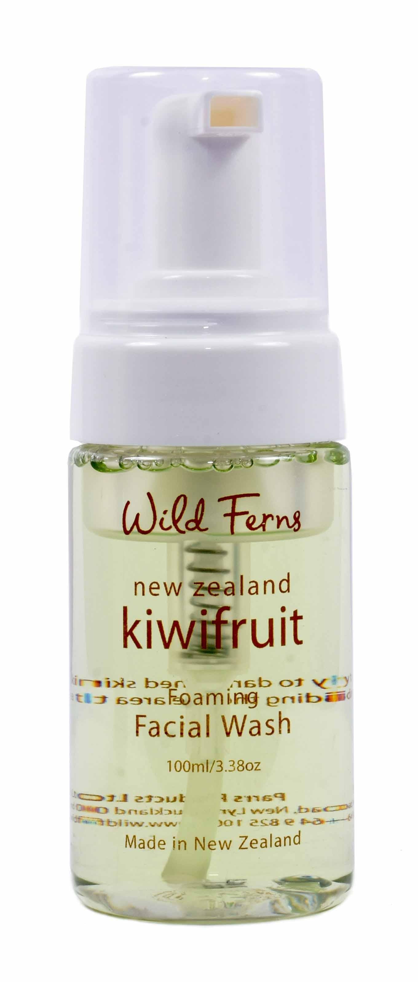WILD FERNS KIWIFRUIT FOAMING FACIAL WASH 100 ML