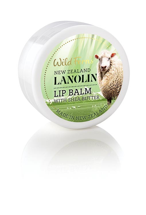 WILD FERNS LANOLIN LIP BALM WITH SHEA BUTTER 18 G (POT)