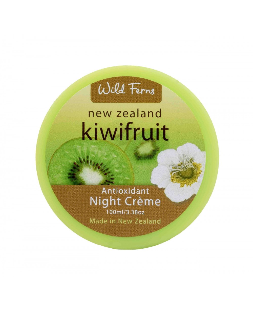 WILD FERNS KIWIFRUIT NIGHT CREAM 100 ML