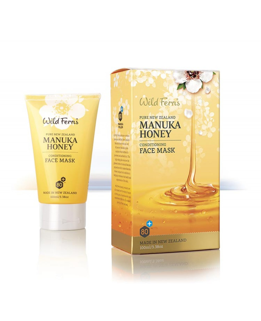WILD FERNS MANUKA HONEY CONDITIONING FACE MASK 100 ML