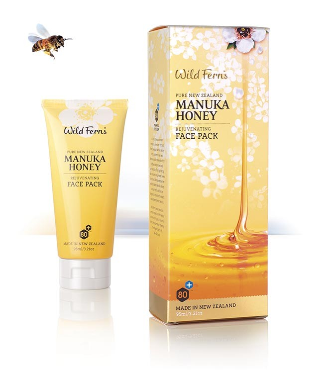 WILD FERNS MANUKA HONEY REJUVENATING FACE PACK 95 ML