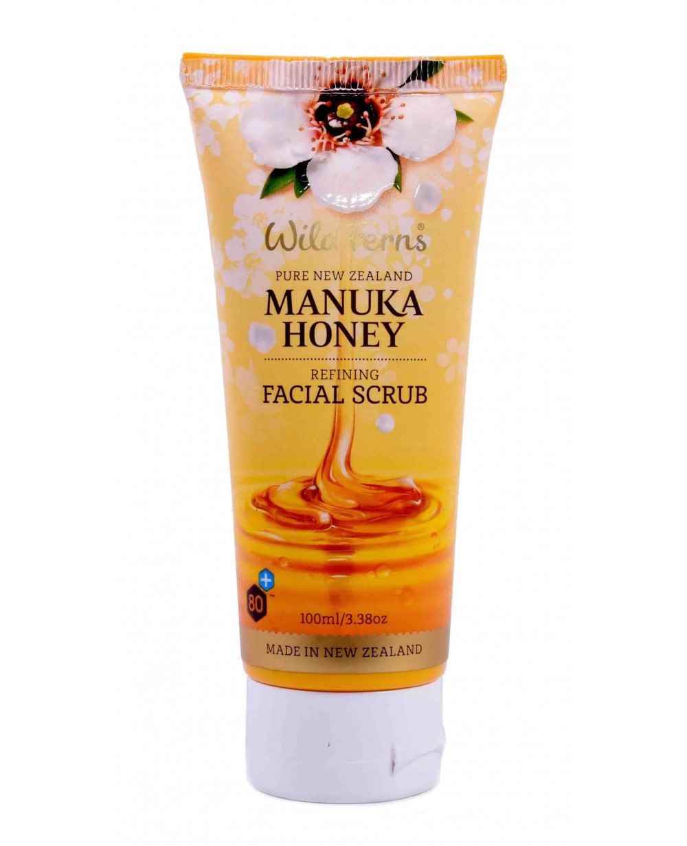 WILD FERNS MANUKA HONEY FACIAL SCRUB 100 ML