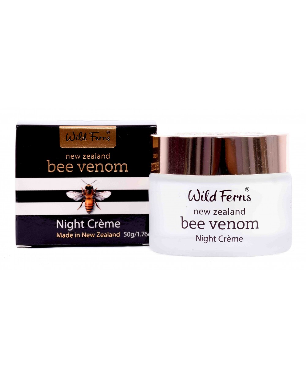 WILD FERNS BEE VENOM NIGHT CREAM 50 GM