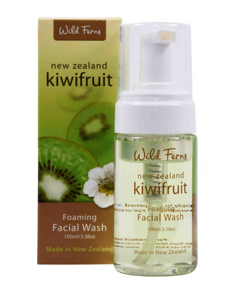 Wild Ferns Kiwifruit Foaming Facial Wash 100 ML