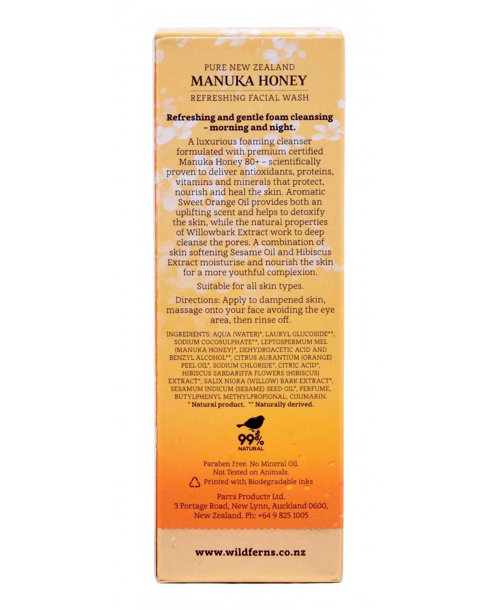 WILD FERNS MANUKA HONEY FACIAL WASH 100 ML