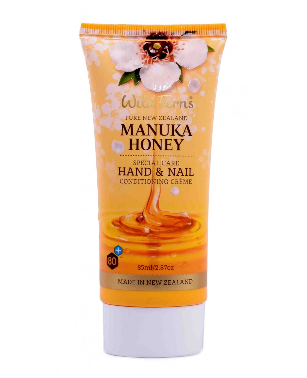 WILD FERNS MANUKA HONEY HAND & NAIL CREAM 85 ML