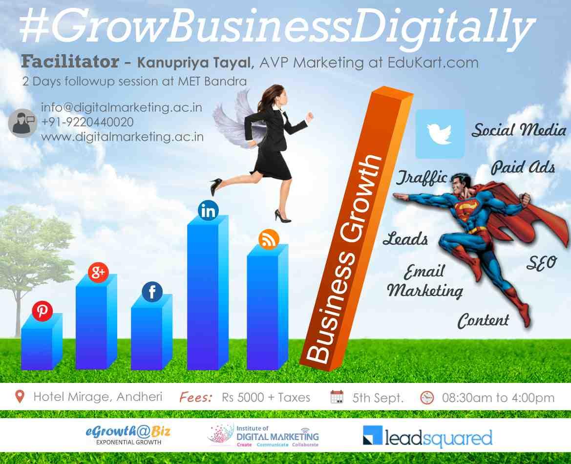 Grow Business .......Digitally Workshop