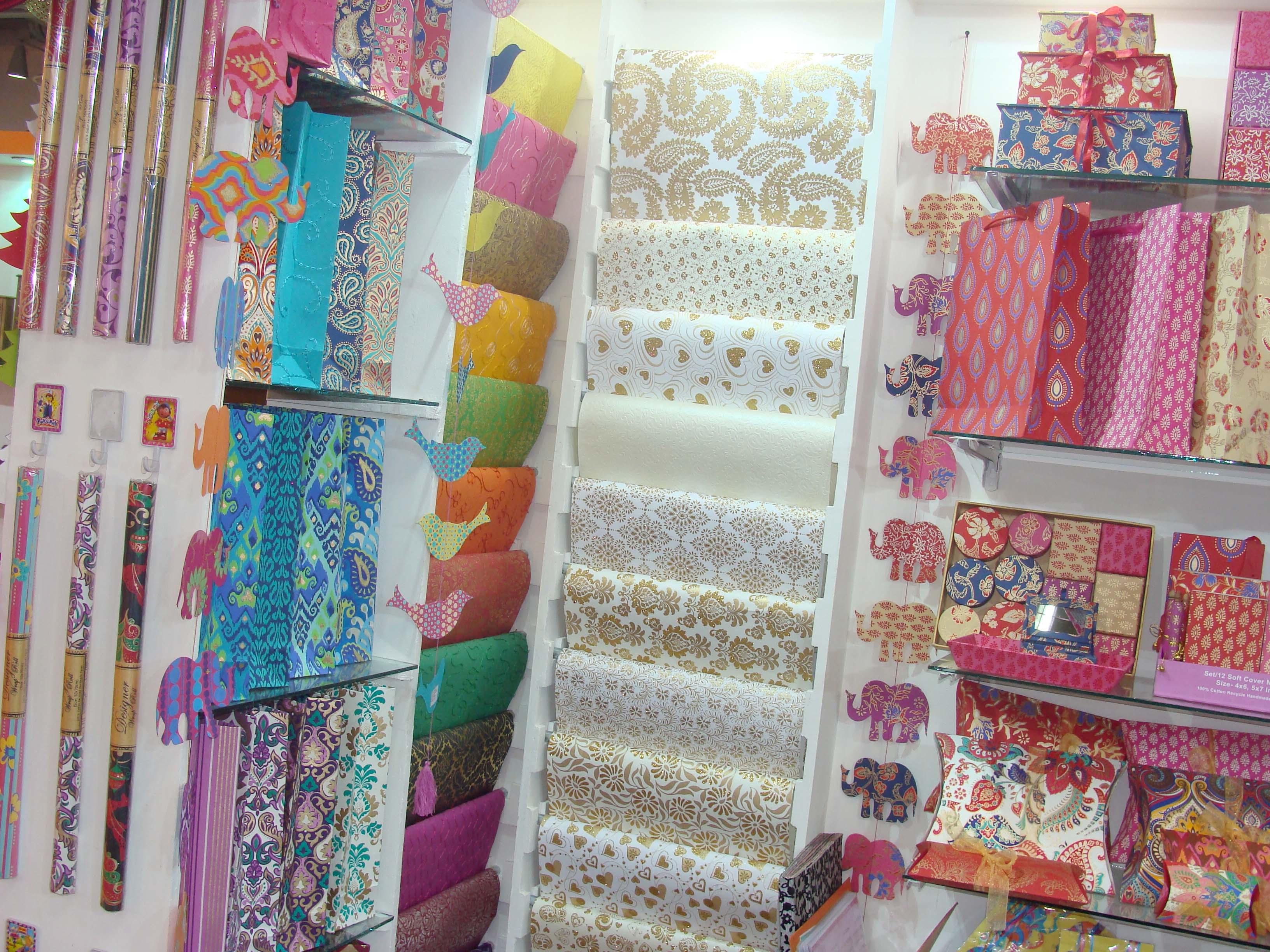 Handmade Gift Wraps