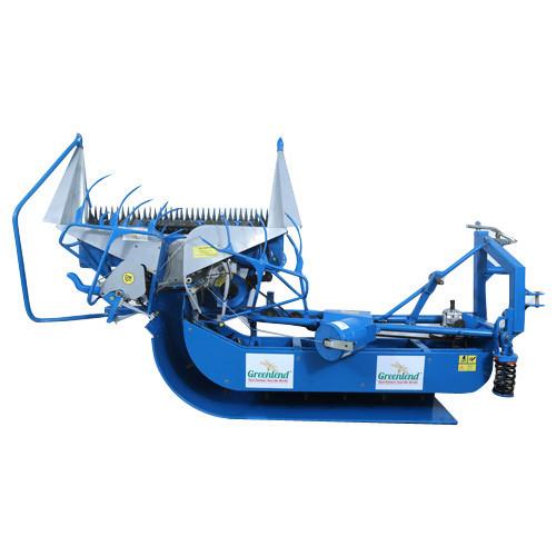 Four Wheel Drive Reaper Binder Machine In Dhrol
