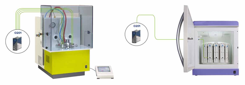 Fiber Optic Sensors for Microwave Digestion Instrument