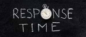 Longer Response Time