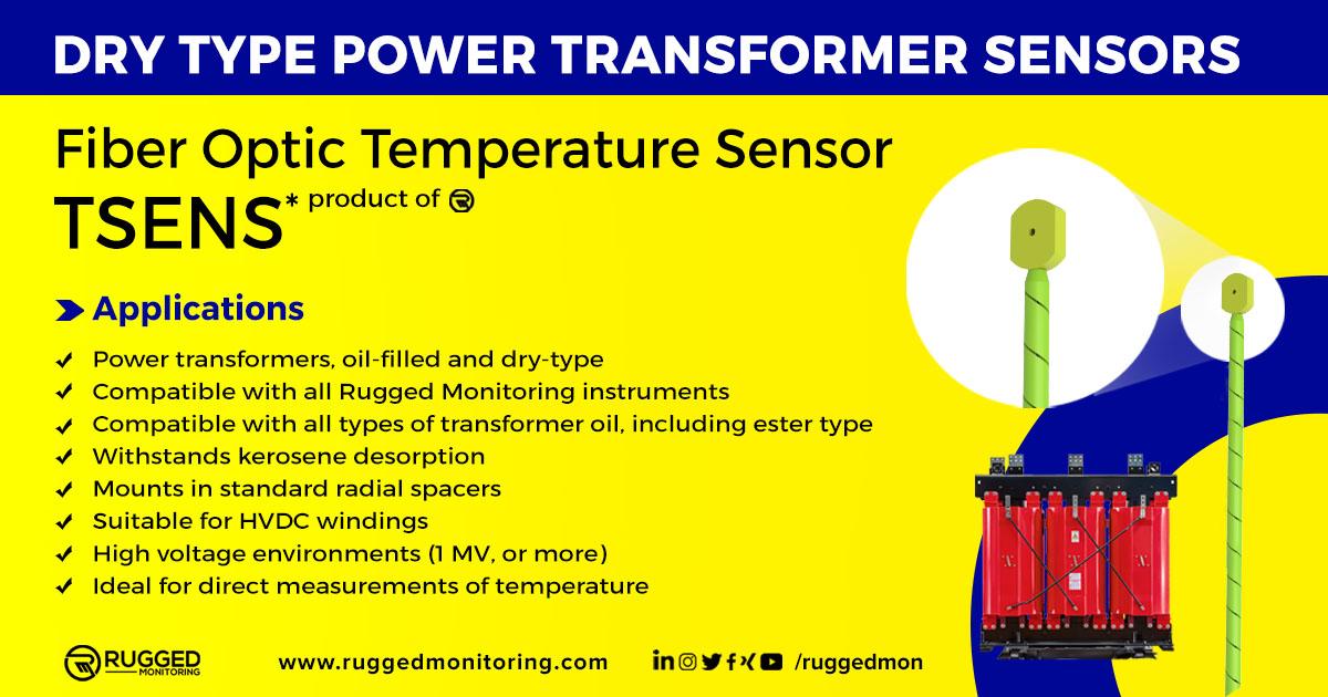 Dry type transformer Tsens