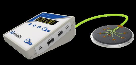 E-Chucks with Integrated Temperature Sensors