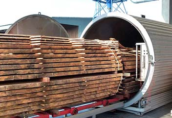 Wood Drying Application