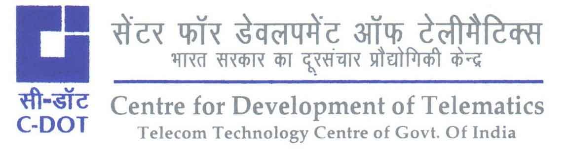 C-DOT, Bangalore