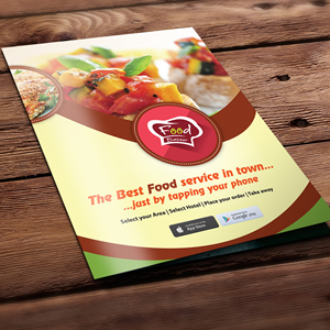 Food Bazar Brochure Design
