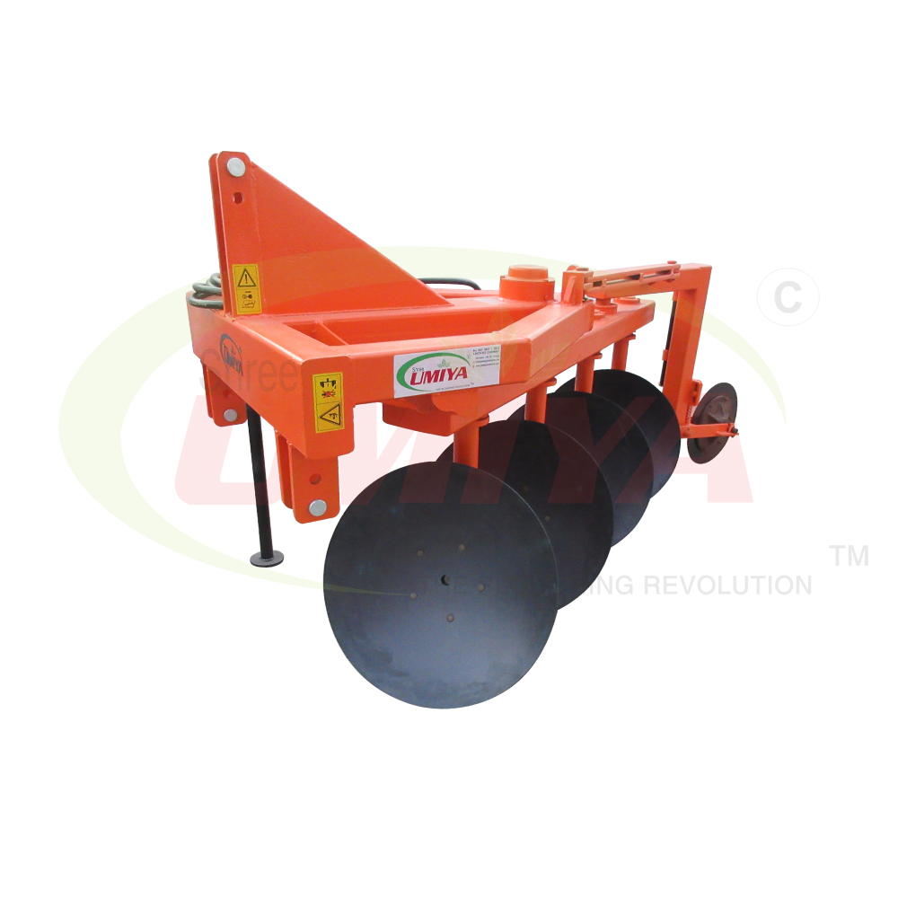 HYDRAULIC REVERSIBLE 4 DISC PLOUGH