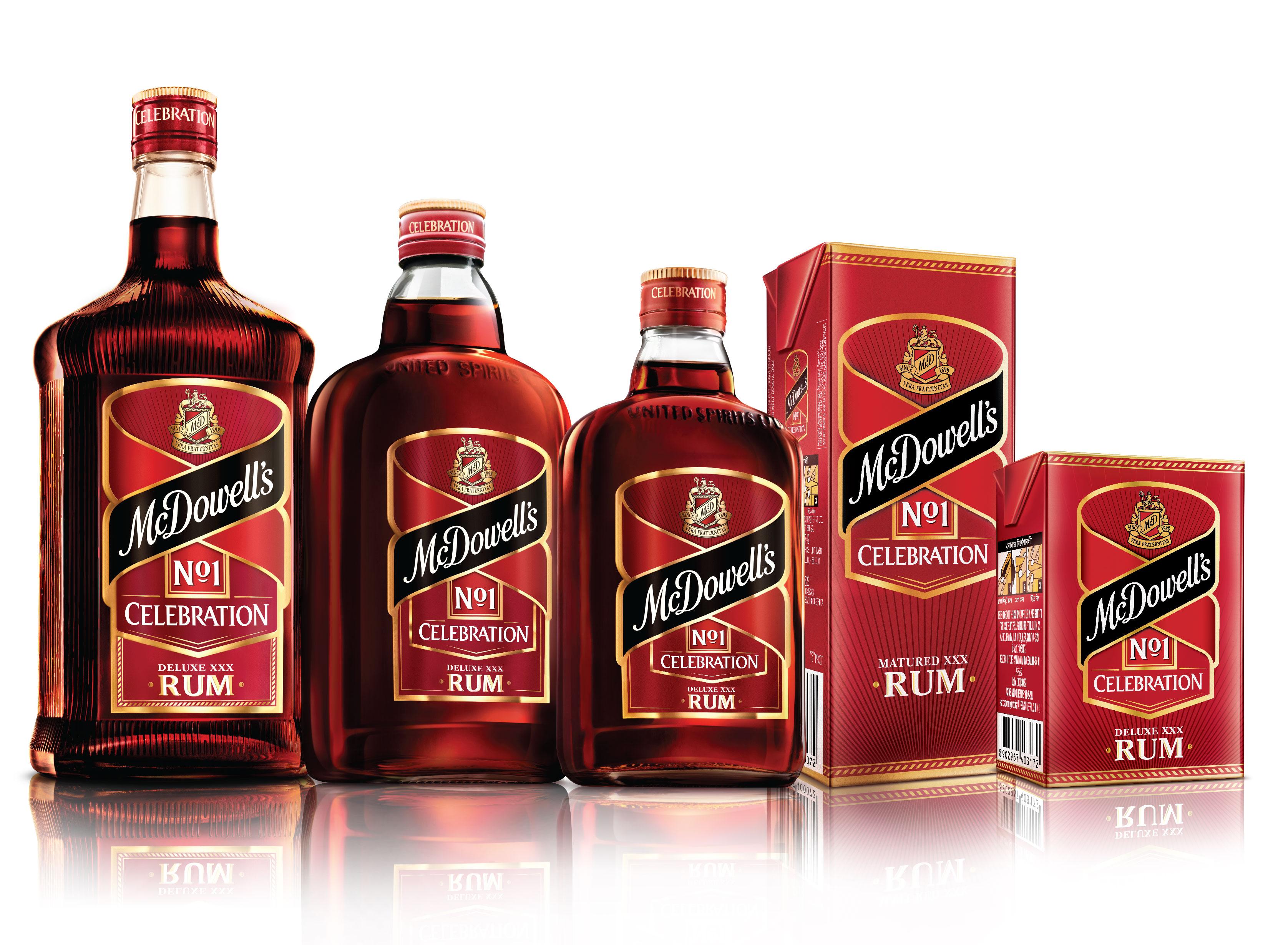 McDowell's No.1 Celebration Rum