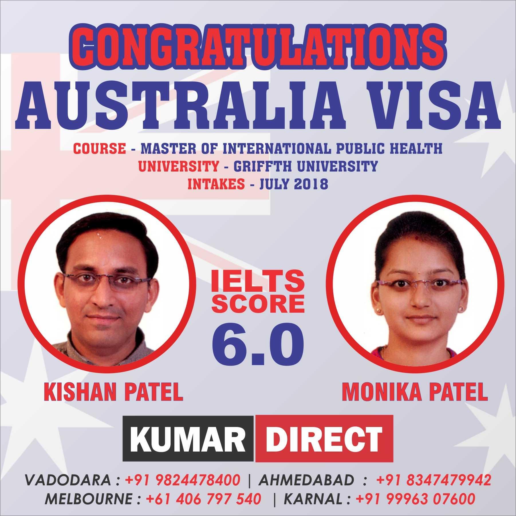 Kishan Patel & Monika Pat