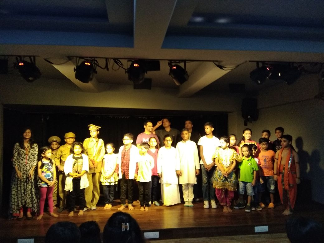 Cadence Theatre Acting Class in Thane, India from Toddler's